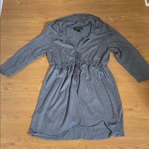 Venue Gray thick Warm Sweater Dress Size XL
